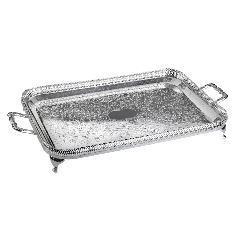 Queen Anne Large Rectangular Tray
