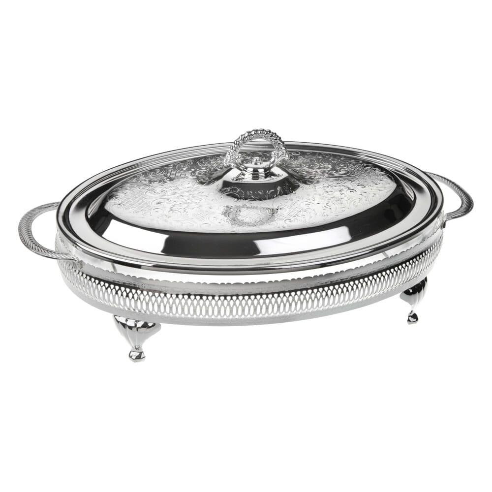 Queen Anne Large oval casserole with lid