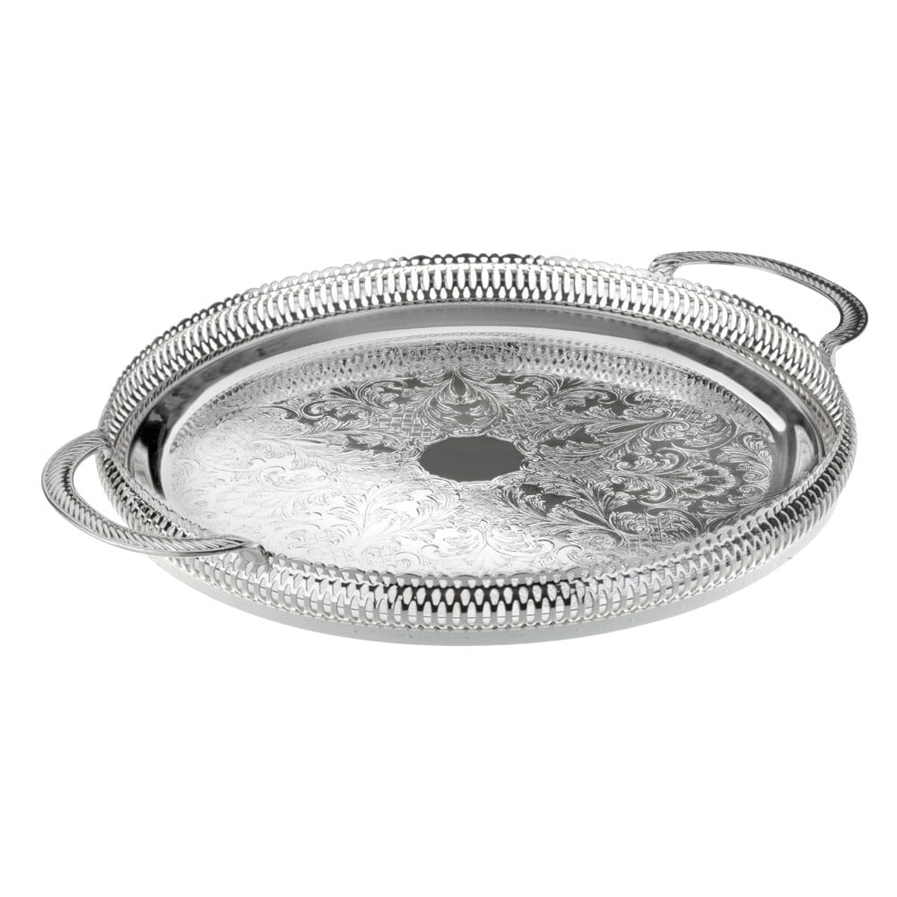 Queen Anne Large round tray