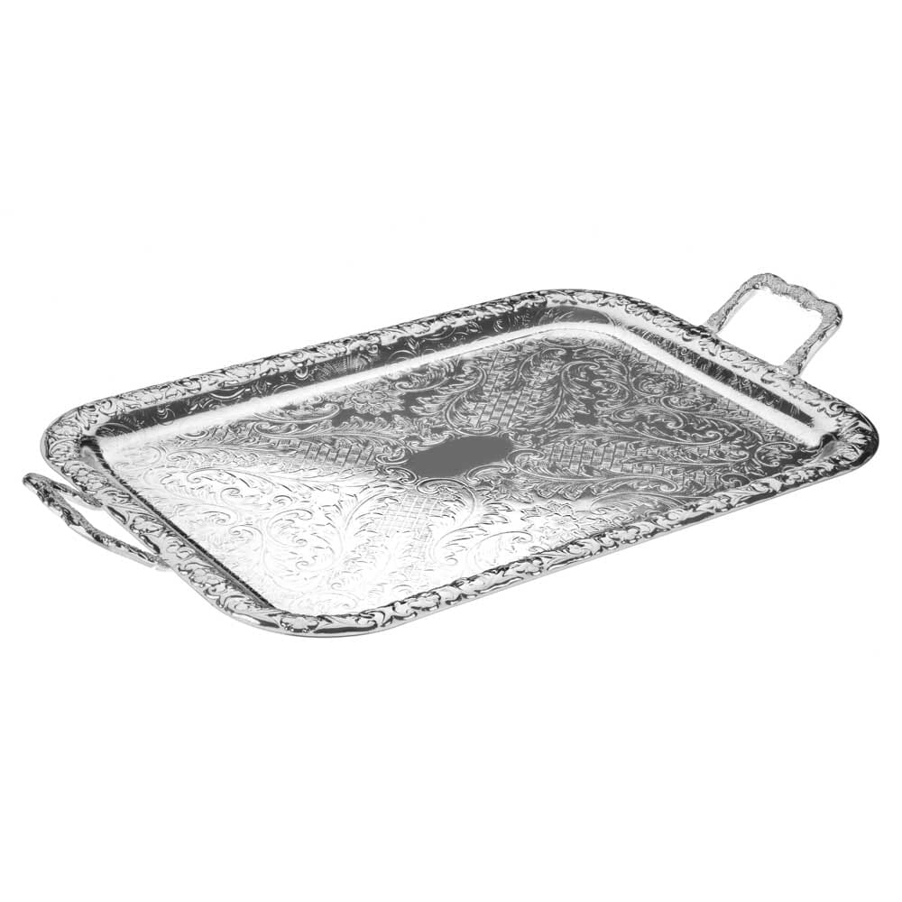 Queen Anne Small Oblong Tray-Handles