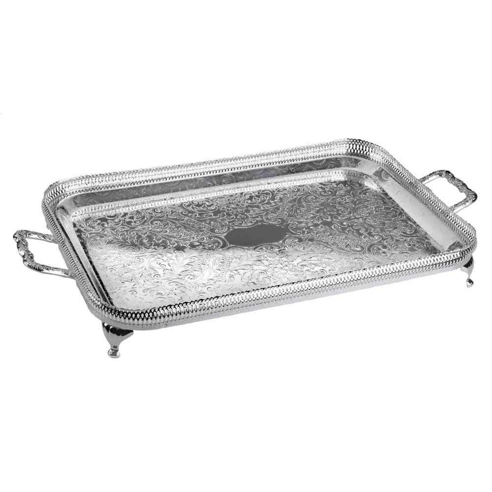 Queen Anne Small Oblong Gallery Tray